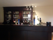 New bar area